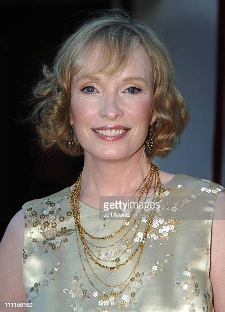 Lindsay Duncan during HBO's 'Rome' Los Angeles Premiere Red Carpet at Wadsworth Theater in Los Angeles California United States