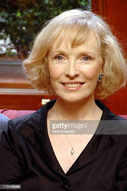 Lindsay Duncan during 'Longford' Press Conference with Jim Broadbent Andy Serkis and Lindsay Duncan at The Renaissance Chancery Court Hotel in London...