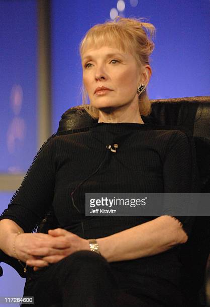 Lindsay Duncan of Longford during HBO Winter 2007 TCA Press Tour in Los Angeles California United States