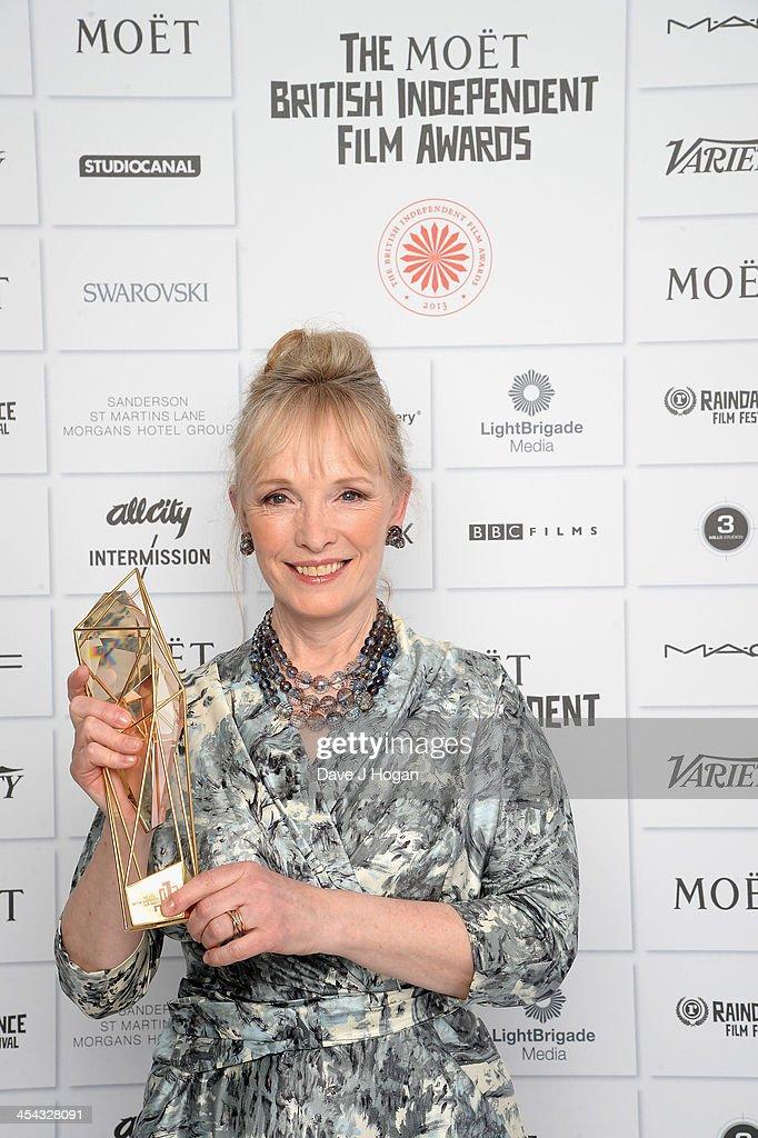 Lindsay Duncan Winner of the Best Actress attends the Moet British Independent Film Awards 2013 at Old Billingsgate Market on December 8, 2013 in London, England.