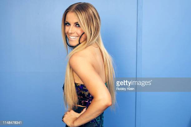 Lindsay Eli poses for a portrait during the 2019 CMT Music Awards at Bridgestone Arena on June 5 2019 in Nashville Tennessee