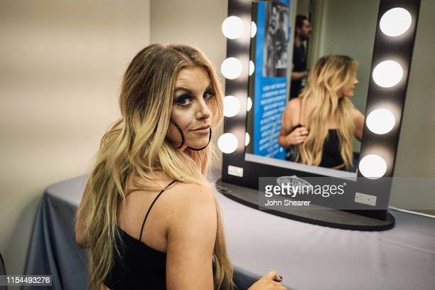 Lindsay Ell attends day 2 for the 2019 CMA Music Festival on June 07 2019 in Nashville Tennessee