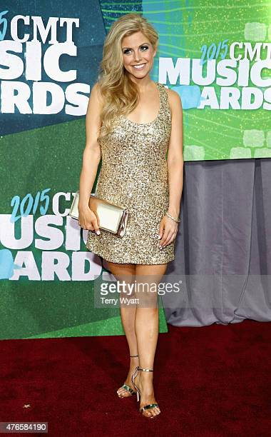 Lindsay Ell attends the 2015 CMT Music awards at the Bridgestone Arena on June 10 2015 in Nashville Tennessee