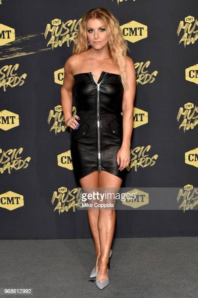 Lindsay Ell attends the 2018 CMT Music Awards at Bridgestone Arena on June 6 2018 in Nashville Tennessee