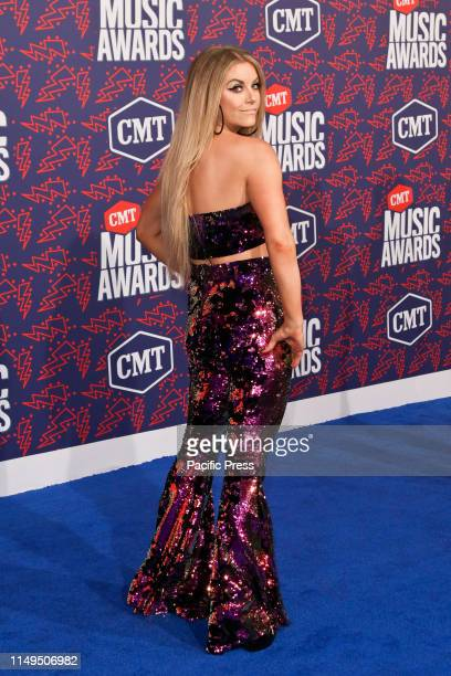 Lindsay Ell attends the 2019 CMT Music Awards at the Bridgestone Arena in Nashville Tennessee