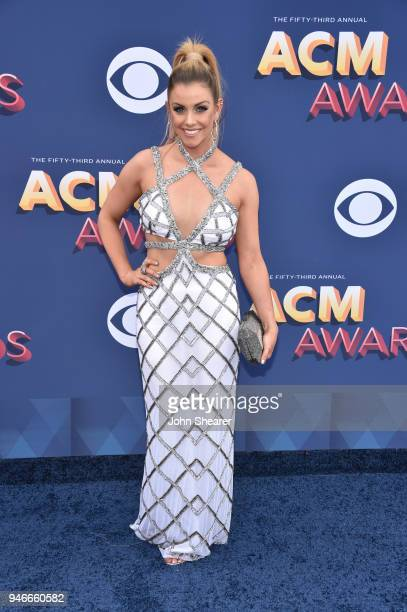 Lindsay Ell attends the 53rd Academy of Country Music Awards at MGM Grand Garden Arena on April 15 2018 in Las Vegas Nevada