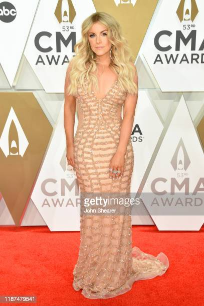 Lindsay Ell attends the 53rd annual CMA Awards at the Music City Center on November 13 2019 in Nashville Tennessee