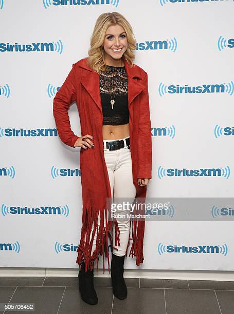 Lindsay Ell visits at SiriusXM Studios on January 15 2016 in New York City