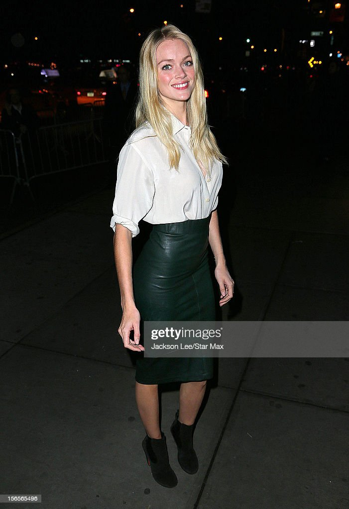 Lindsay Ellingson as seen on November 15, 2012 in New York City.