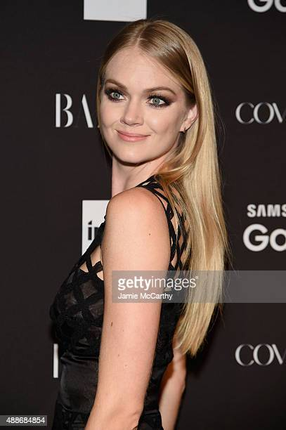 Lindsay Ellingson attends the 2015 Harper's BAZAAR ICONS Event at The Plaza Hotel on September 16 2015 in New York City
