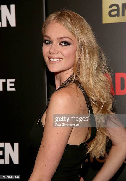 Lindsay Ellingson attends the 'Mad Men' New York Special Screening at The Museum of Modern Art on March 22 2015 in New York City