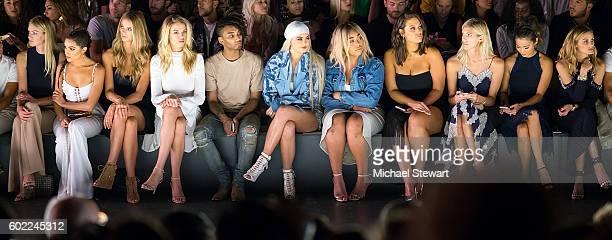 Lindsay Ellingson Olivia Culpo Kate Lynne Bock Hailey Clauson Kylie Jenner Jordyn Woods Ashley Graham Devon Windsor Jamie Chung and Olivia Palermo...