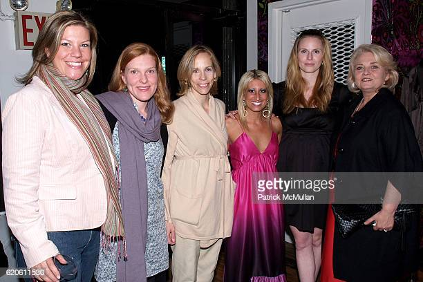 Lindsay Erb Aileen Barry Lori Klinger Alison Stewart Rosie Pope and Valerie Jones at ALISON STEWART and CINDY WOOD launch STYLEWHIPPEDCOM at...