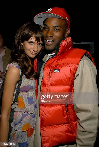 Lindsay Frimodt and Tyson Beckford during 9th Annual Victoria's Secret Fashion Show After Party at The New York State Armory in New York City New...