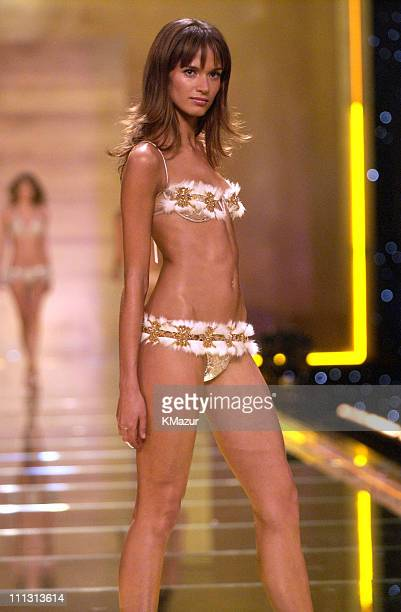 Lindsay Frimodt during 8th Annual Victoria's Secret Fashion Show Runway at The New York State Armory in New York City New York United States