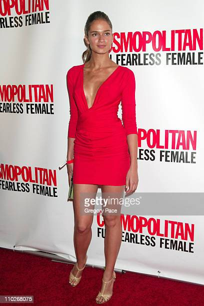 Lindsay Frimodt Victoria's Secret Model during Cosmopolitan's 40th Birthday Bash Arrivals and Inside at Skylight Studio in New York City New York...