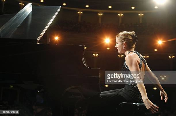 Lindsay Garritson of the United States performs during the second day of the preliminary round of the 14th Van Cliburn International Piano...