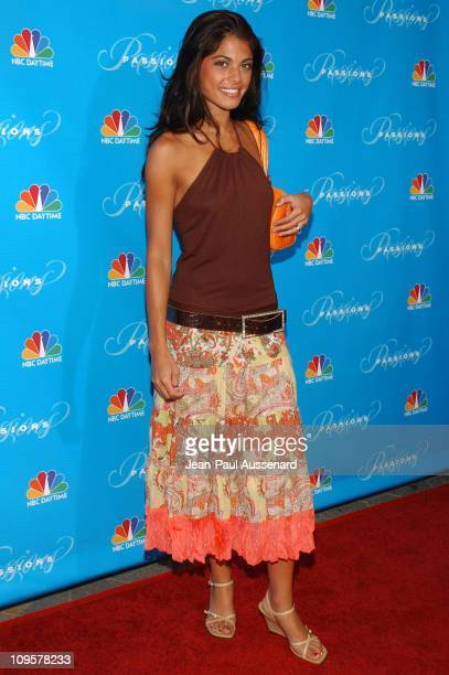 Lindsay Hartley during NBC's Passions 7th Season KickOff Party at Universal Citywalk in Universal City California United States