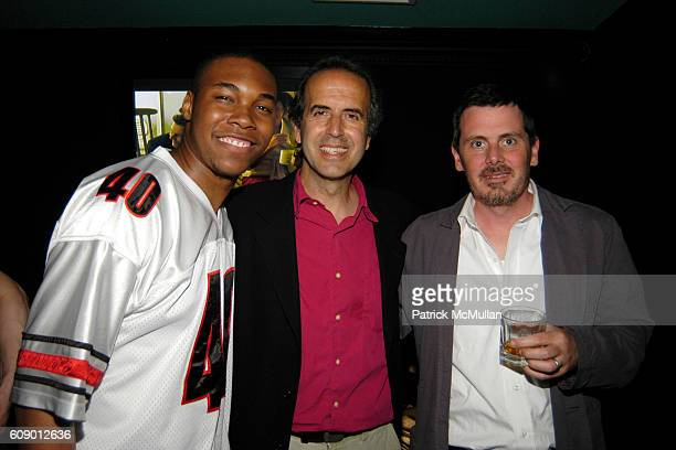 Lindsay Johnson Oren Rudavsky and Chris Eigeman attend The Treatment Premier Party at Mantra 986 on May 4 2007 in New York City
