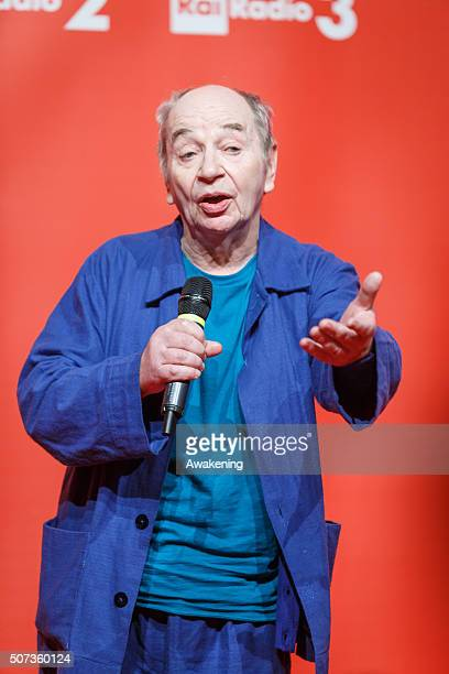 Lindsay Kemp attends the ArteFiera 40 Vernissage on January 28 2016 in Bologna Italy Artefiera is an international contemporary art fair held...