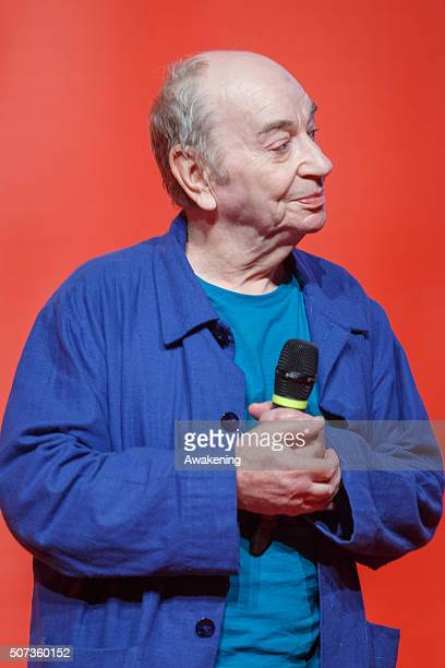 Lindsay Kemp attends the ArteFiera 40. Vernissage on January 28, 2016 in Bologna, Italy. Artefiera is an international contemporary art fair held...