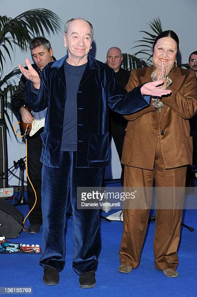 Lindsay Kemp attends the first day of the 16th Annual Capri Hollywood International Film Festival on December 27 2011 in Capri Italy