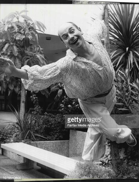 """Lindsay Kemp book in Australia with his company to once again perform his noun legendary performances of """"Flowers"""" and his new show """"The Dream""""...."""