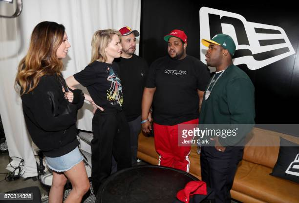 Lindsay Koch and A$AP Ferg attend New Era Cap 2017 Complex Con Ambassador Collab lounge with A$AP Ferg Mike Will MadeIT Jerry Lorenzo Takashi...
