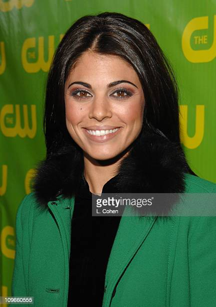Lindsay Korman during The CW Winter 2007 TCA Press Tour Party Green Carpet and Inside at Ritz Carlton in Pasadena California United States