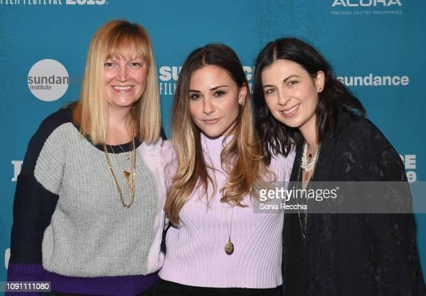 Lindsay Lanzillotta Kate Krieger and Deniz Gumustas attend the Indie Episodic Program 2 during the 2019 Sundance Film Festival at Prospector Square...