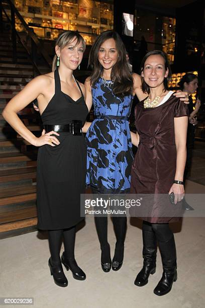 Lindsay Leaf Lindsay Talbot and Jen Petrisko attend LOUIS VUITTON TEEN VOGUE Holiday Celebration with AMY ASTLEY at Louis Vuitton on December 11 2008...