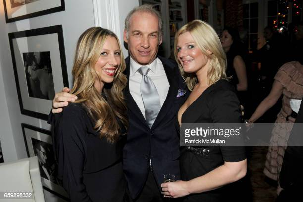 Lindsay Leaf Tony Brand and Amy Gagnon attend JOHN DEMSEY Holiday Party at Private Residence on December 15 2009 in New York City