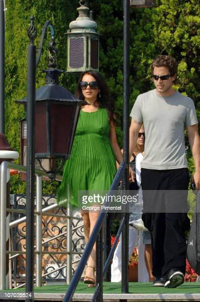Lindsay Lohan and Harry Morton during The 63rd International Venice Film Festival Lindsay Lohan Sighting in Venice Italy