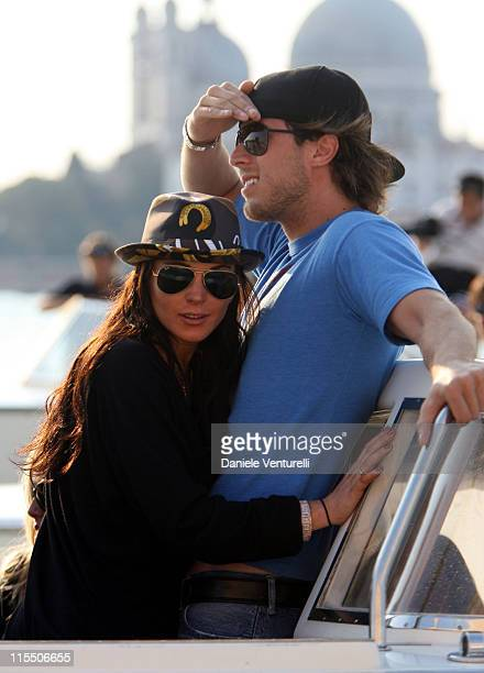 Lindsay Lohan and Harry Morton during The 63rd International Venice Film Festival Lindsay Lohan Arrives in Venice in Venice Italy