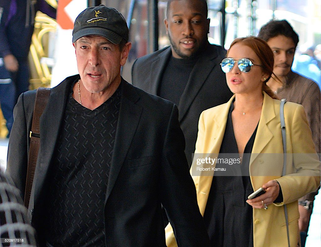 Celebrity Sightings in New York City - April 13, 2016 : News Photo