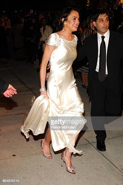 Lindsay Lohan and Jason Weinberg attend Vanity Fair Oscar Party at Morton's Restaurant on March 5 2006