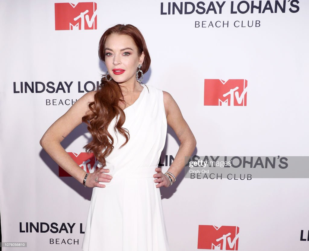 "MTV's ""Lindsay Lohan's Beach Club"" Premiere Party : Nachrichtenfoto"