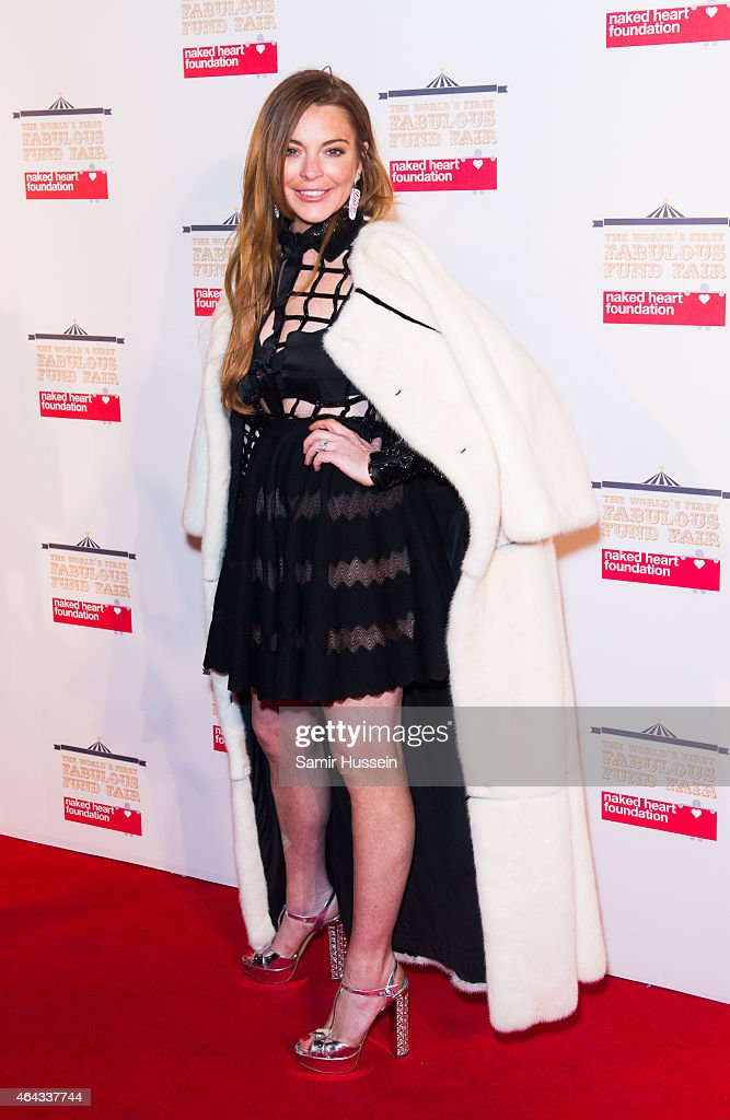The World's First Fabulous Fund Fair In Aid Of The Naked Heart Foundation - Red Carpet Arrivals : News Photo