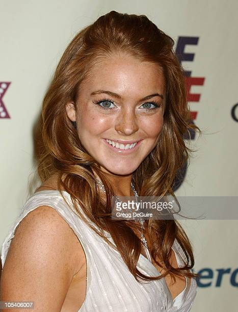 Lindsay Lohan during 11th Annual Race To Erase MS Gala Arrivals at The Westin Century Plaza Hotel in Los Angeles California United States
