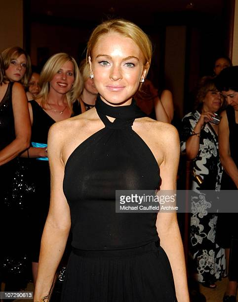 Lindsay Lohan during 12th Annual Race to Erase MS CoChaired by Tommy Hilfiger and Nancy Davis Red Carpet at The Westin Century Plaza Hotel Spa in...