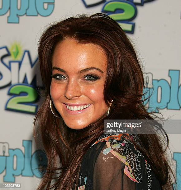 Lindsay Lohan during 1st Annual Teen People 'Young Hollywood' Issue at Teen  People Mansion
