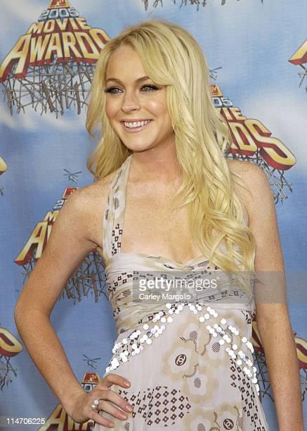 Lindsay Lohan during 2005 MTV Movie Awards - Arrivals at Shrine Auditorium in Los Angeles, California, United States.