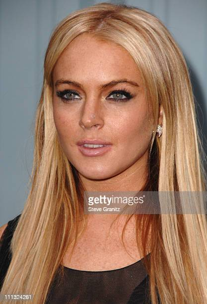 Lindsay Lohan during 2007/2008 Chanel Cruise Show Presented by Karl Lagerfeld at Hangar 8 Santa Monica Airport in Santa Monica California United...