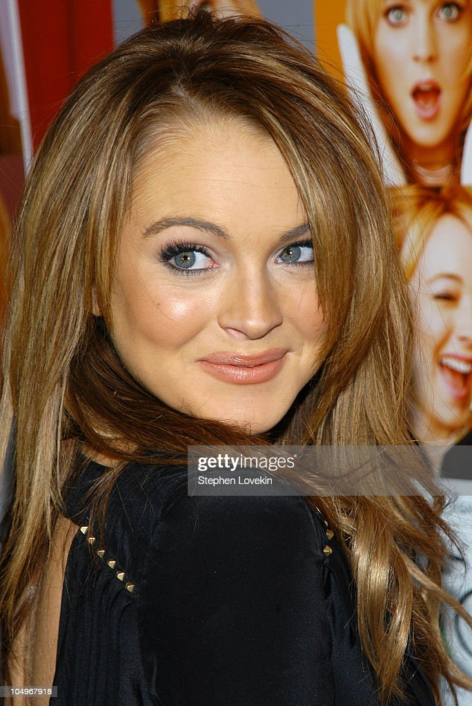 Lindsay Lohan During Confessions Of A Teenage Drama Queen New York Premiere At Loews