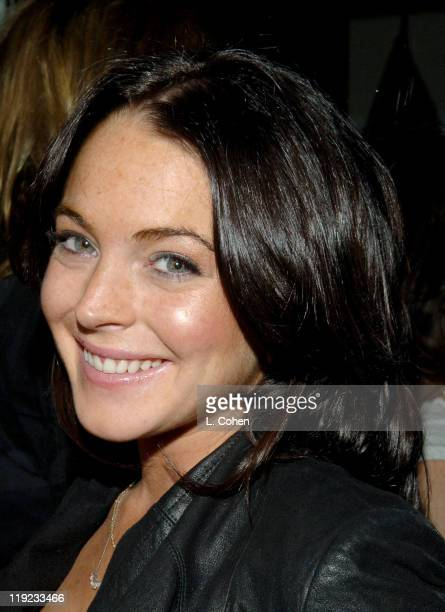 Lindsay Lohan during Diesel Presents Young Hollywood Awards Countdown March 30 2006 at Liberace's Penthouse in Los Angeles California United States