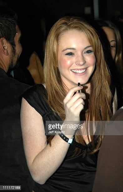 Lindsay Lohan during Motorola Hosts 5th Anniversary Party Benefiting Toys for Tots Inside at 3526 Hayden in Culver City California United States