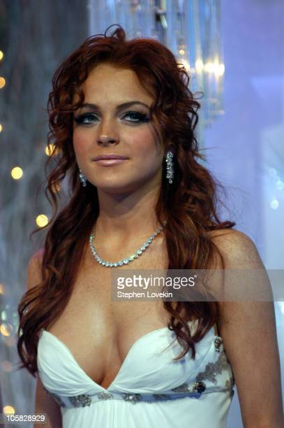 Lindsay Lohan during MTV's 'Iced Out' New Year's Eve 2005 Show at MTV Studios Times Square in New York City New York United States