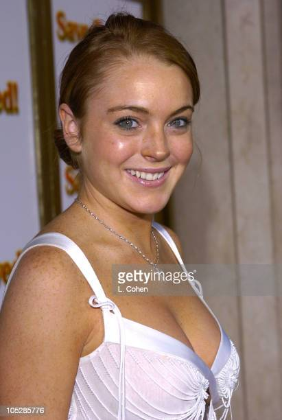 Lindsay Lohan during 'Saved' Los Angeles Premiere Red Carpet at Mann National Theatre in Westwood California United States