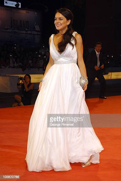 """Lindsay Lohan during The 63rd International Venice Film Festival - """"Bobby"""" Premiere - Arrivals at Palazzo del Cinema in Venice Lido, Italy."""