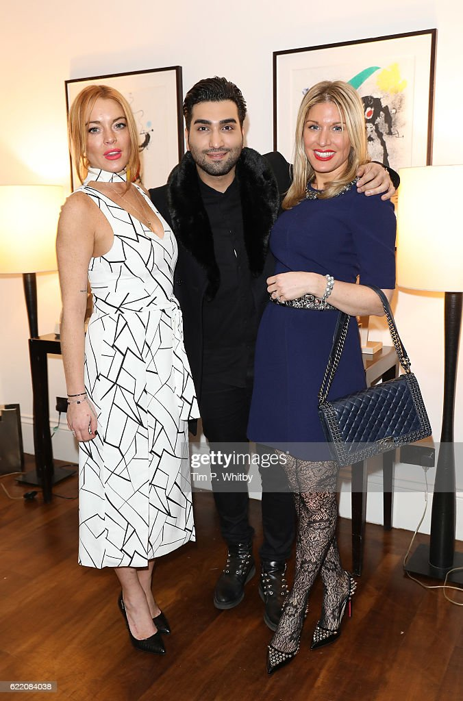 Damiani And Nadezda Foundation Afternoon Tea At Morton's Club : News Photo